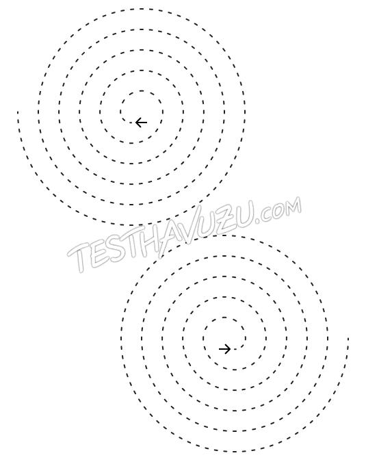 Çizgi Çalışması -Spiral