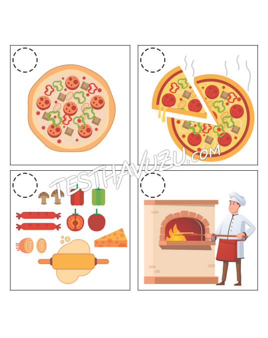 Olay Sıralama - Pizza Yapımı